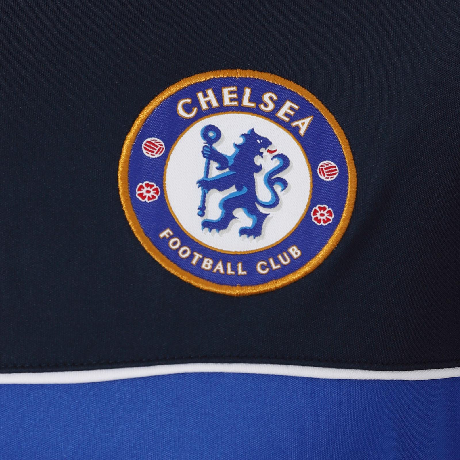ab7fa9cb03a Chelsea FC Official Football Gift Mens Poly Training Kit T-Shirt | eBay