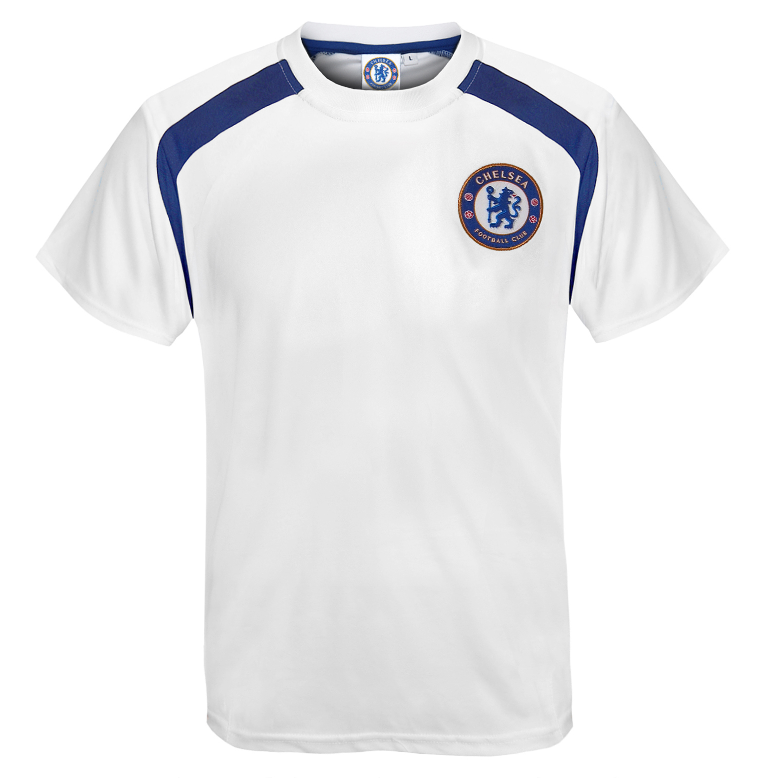 Chelsea football club official soccer gift boys poly for T shirts for clubs