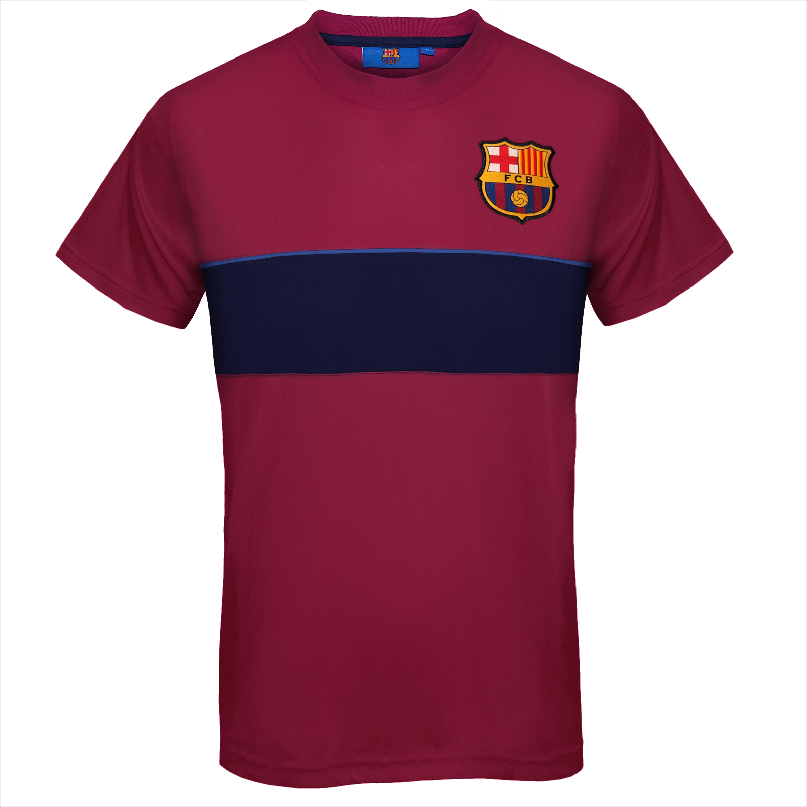 FC Barcelona Official Football Gift Mens Poly Training Kit ...