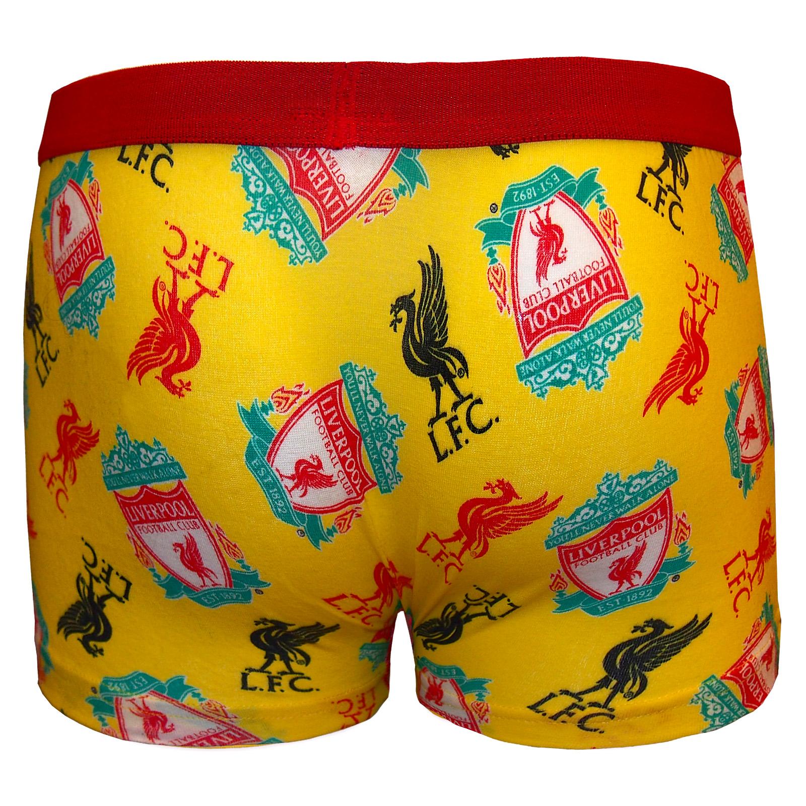 126c157af2b70 Liverpool FC - Calzoncillos oficiales de estilo bóxer - Para niños ...
