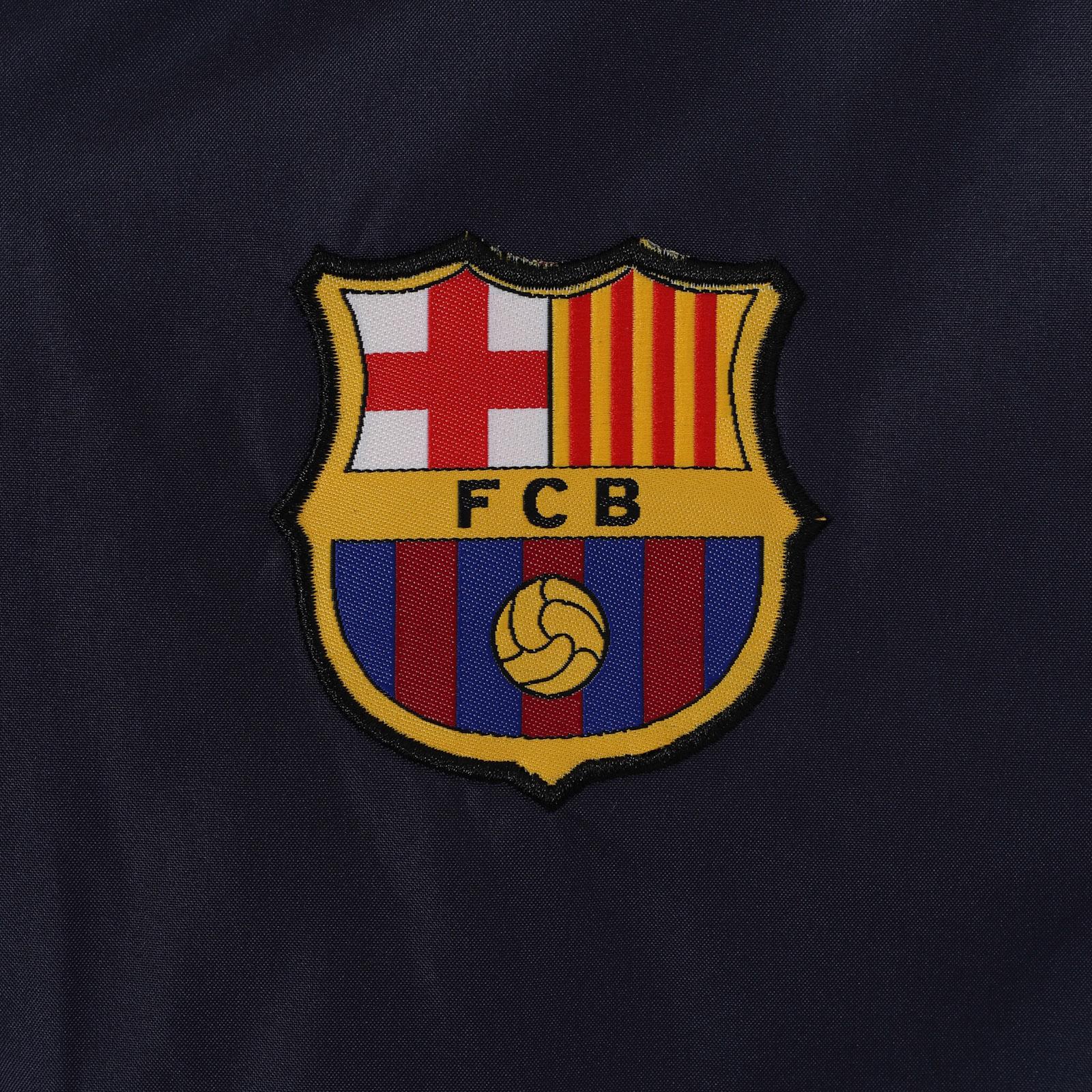FC-Barcelona-Chaqueta-cortavientos-oficial-Para-hombre-Impermeable 5c85d8eebf816
