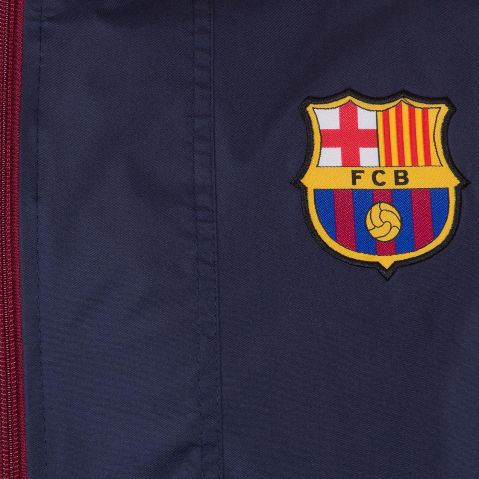 FC-Barcelona-Chaqueta-cortavientos-oficial-Para-hombre-Impermeable 59e83a0a583
