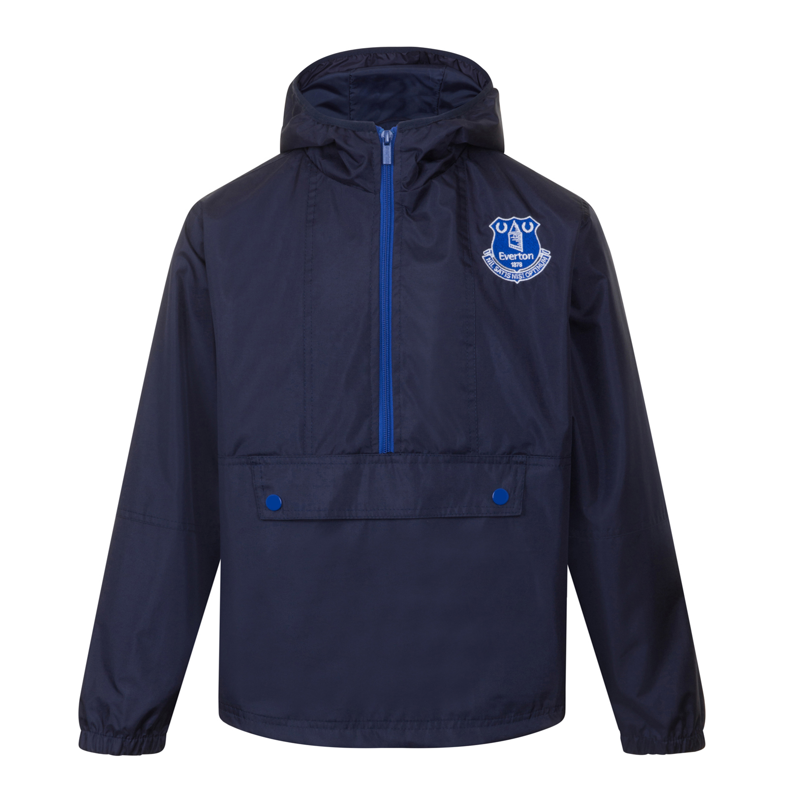 Everton-FC-Chaqueta-cortavientos-oficial-Para-nino-Impermeable