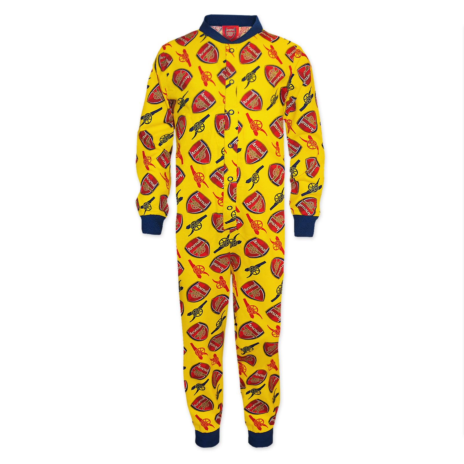Arsenal-FC-Pijama-de-una-pieza-para-ninos-Producto-oficial