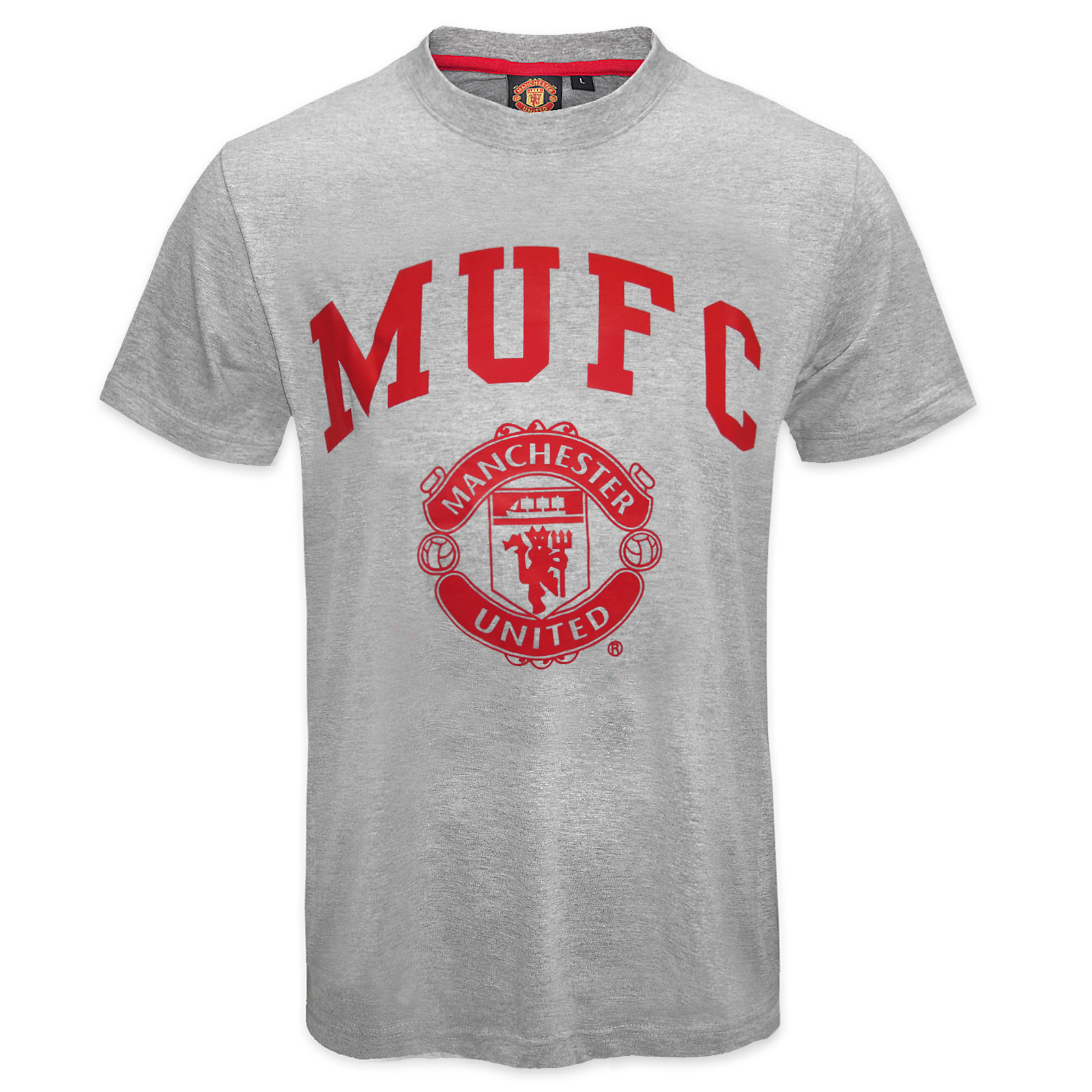 Manchester United FC Official Football Gift Mens Graphic T ...