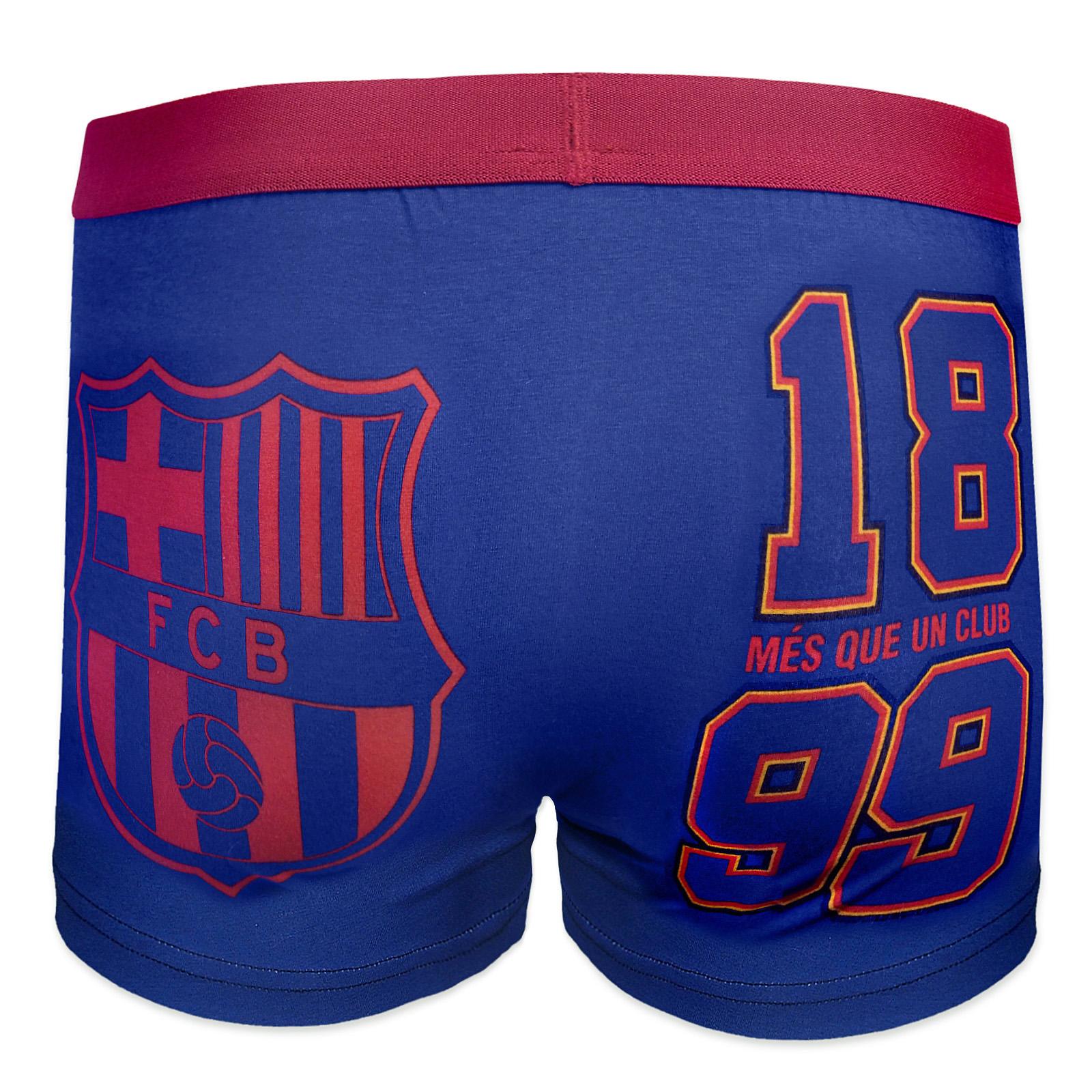 e945281dcf20e FC Barcelona - Calzoncillos oficiales tipo bóxer - Para niños - Con ...