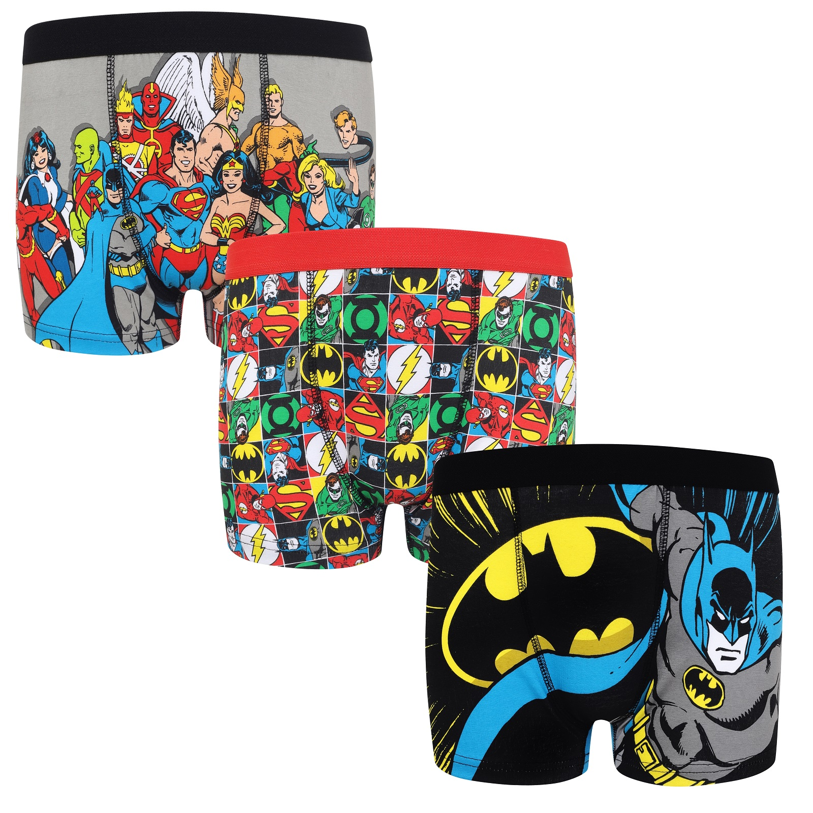Boys Official Batman Boxer Shorts Trunks Age 4 to 10
