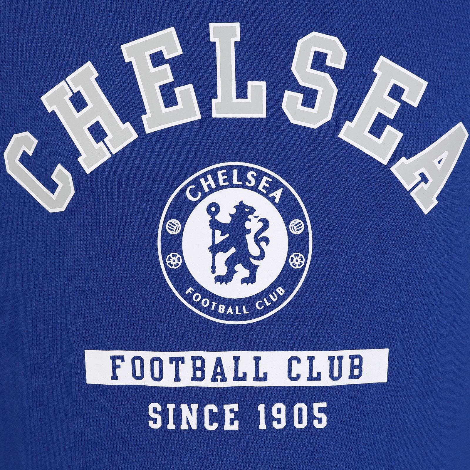 05cc869e72a96 Chelsea FC - Camiseta oficial con mangas raglán y el escudo del club ...
