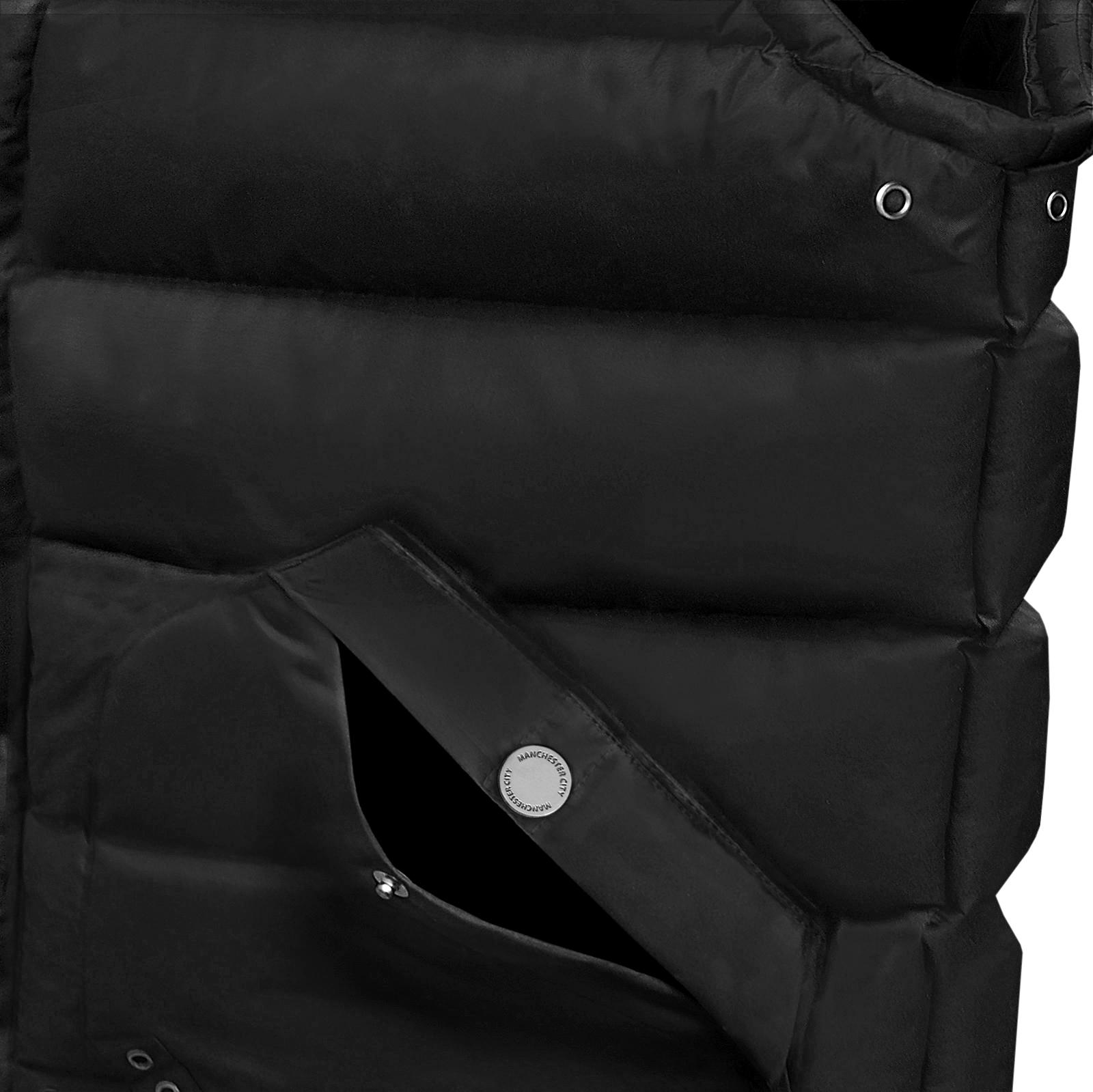 Manchester City FC Official Soccer Gift Mens Padded Body Warmer Jacket Gilet