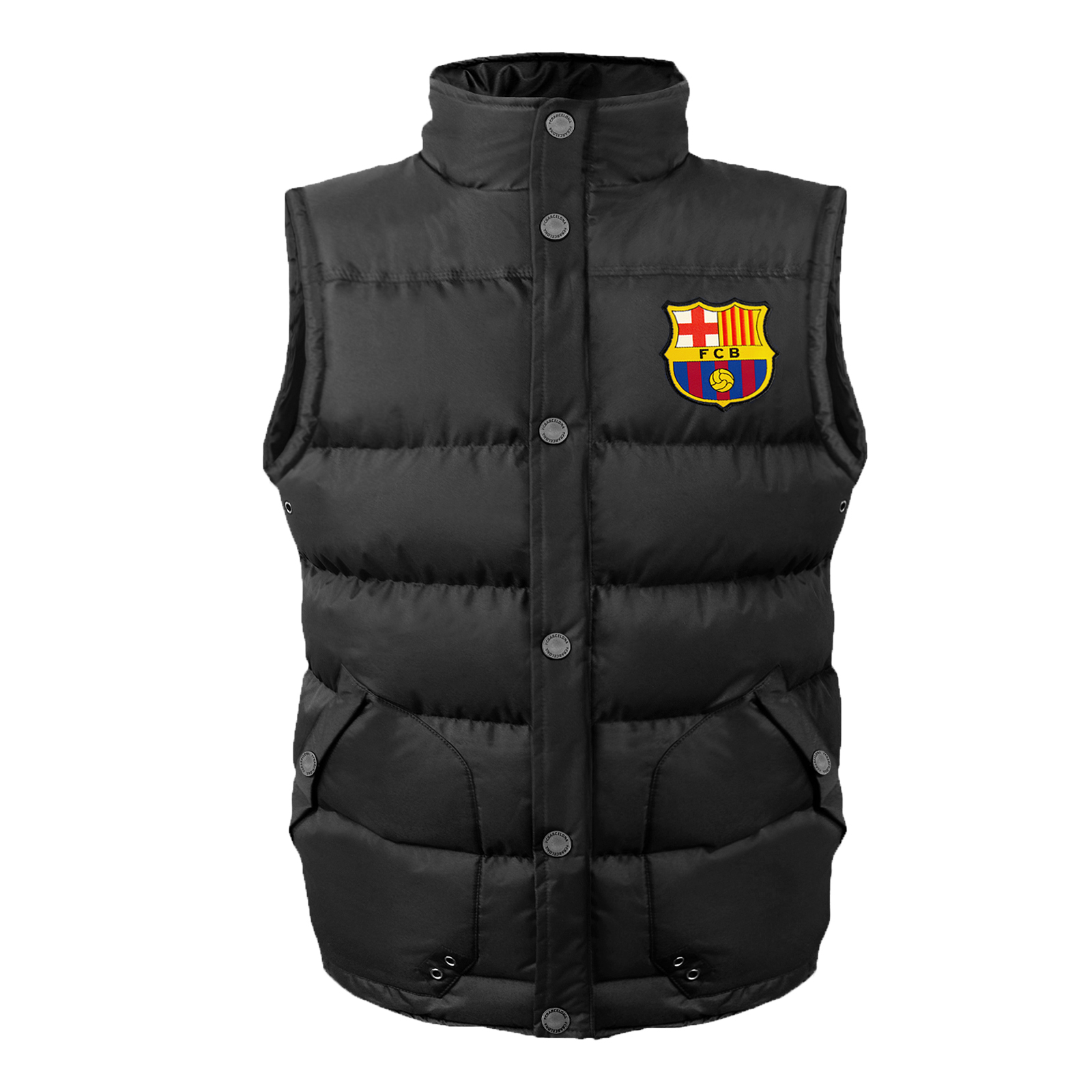 FC-Barcelona-officiel-Gilet-rembourre-sans-manches-theme-football-garcon