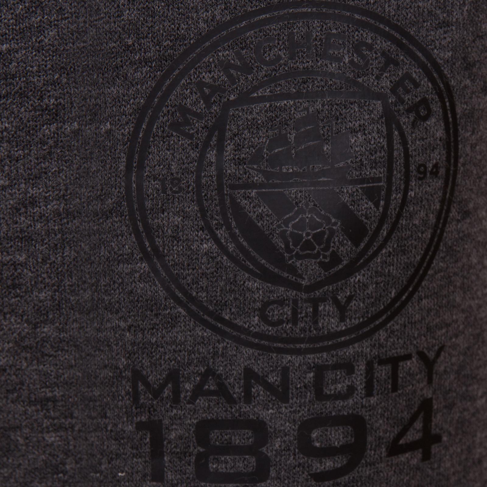 Détails sur Manchester City FC officiel Pull zippé à capuche polaire garçon