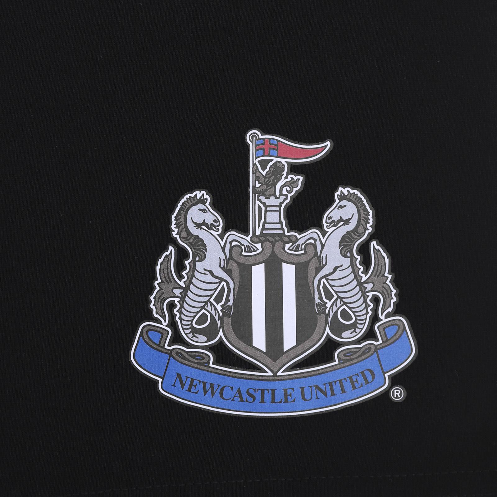 Newcastle-United-FC-Official-Football-Gift-Boys-Short-Pyjamas thumbnail 11