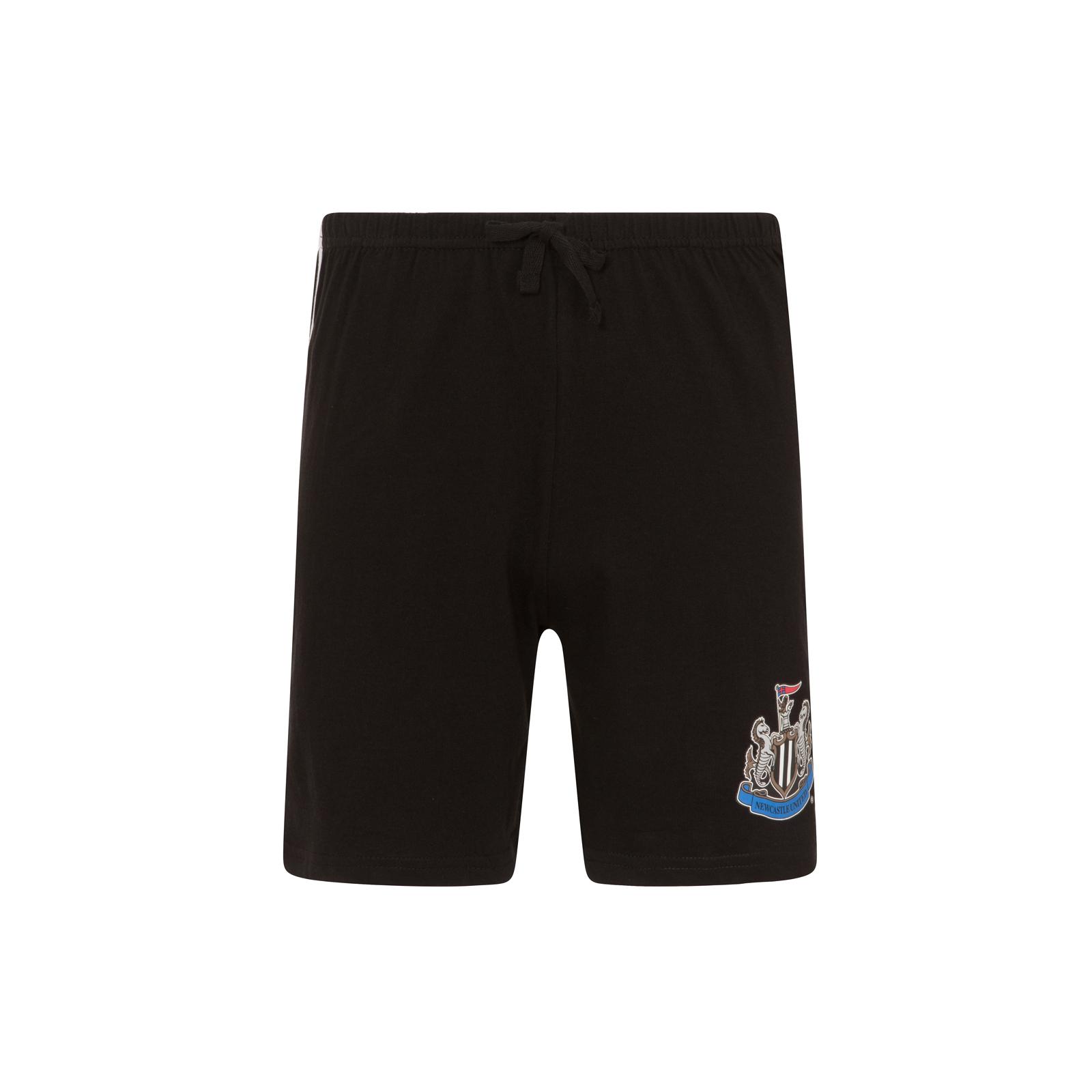 Newcastle-United-FC-Official-Football-Gift-Boys-Short-Pyjamas thumbnail 6