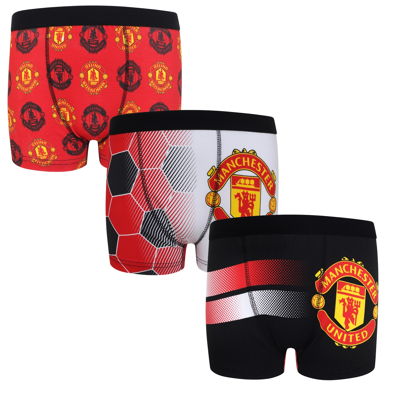official boys official merchandise 1 pack chelsea trunks boxer shorts just £2.99