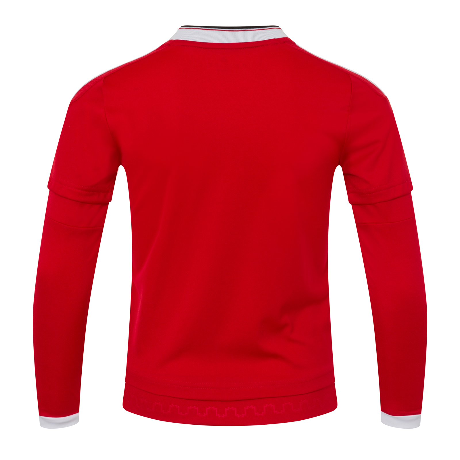 Manchester-United-FC-Official-Gift-Boys-Adidas-Home-Kit-Long-Sleeve-Shirt thumbnail 7