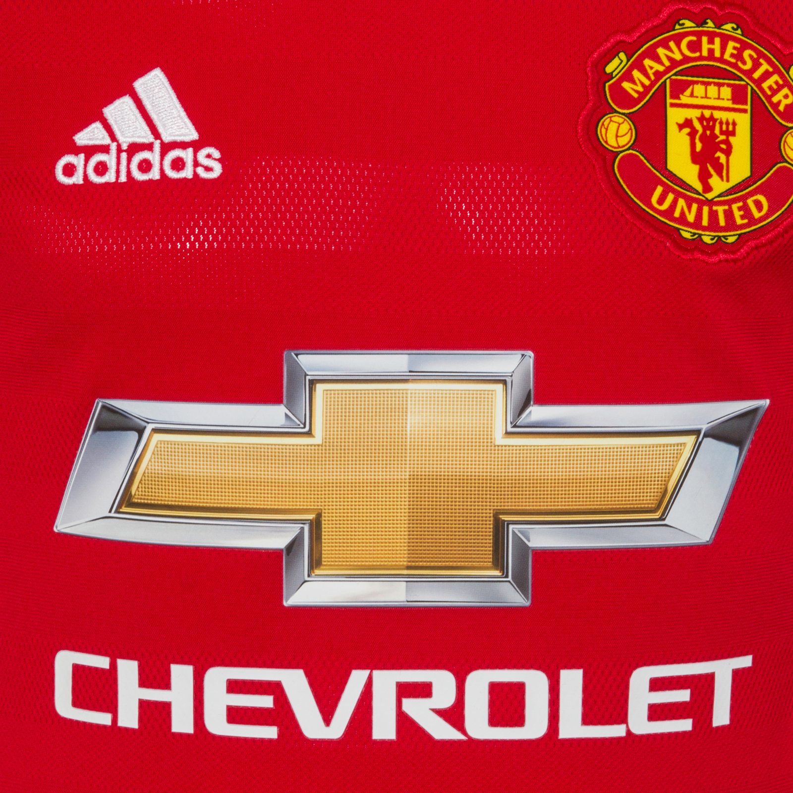 Manchester-United-FC-Official-Gift-Boys-Adidas-Home-Kit-Long-Sleeve-Shirt thumbnail 5
