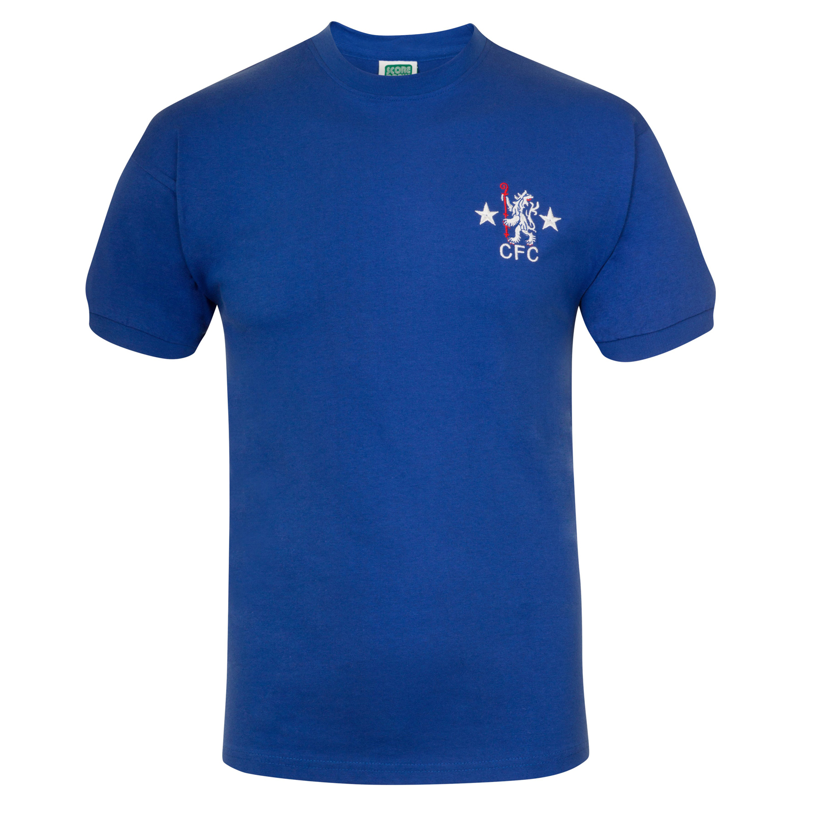 6515ee9f735 Details about Chelsea FC Official Football Gift Mens 1972 1976 Retro Home Kit  Shirt