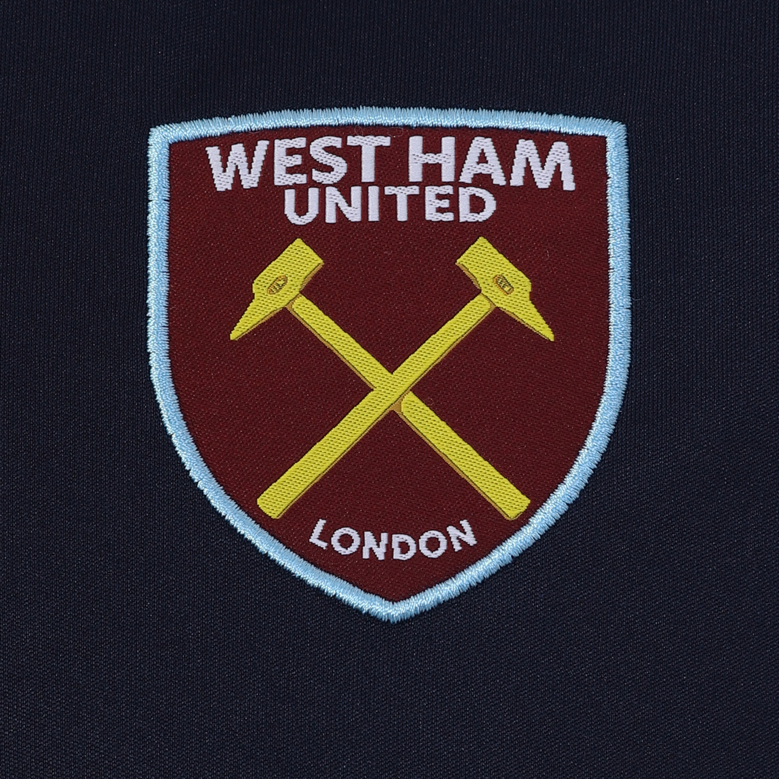 West-Ham-United-FC-Official-Football-Gift-Mens-Poly-Training-Kit-T-Shirt miniatuur 13