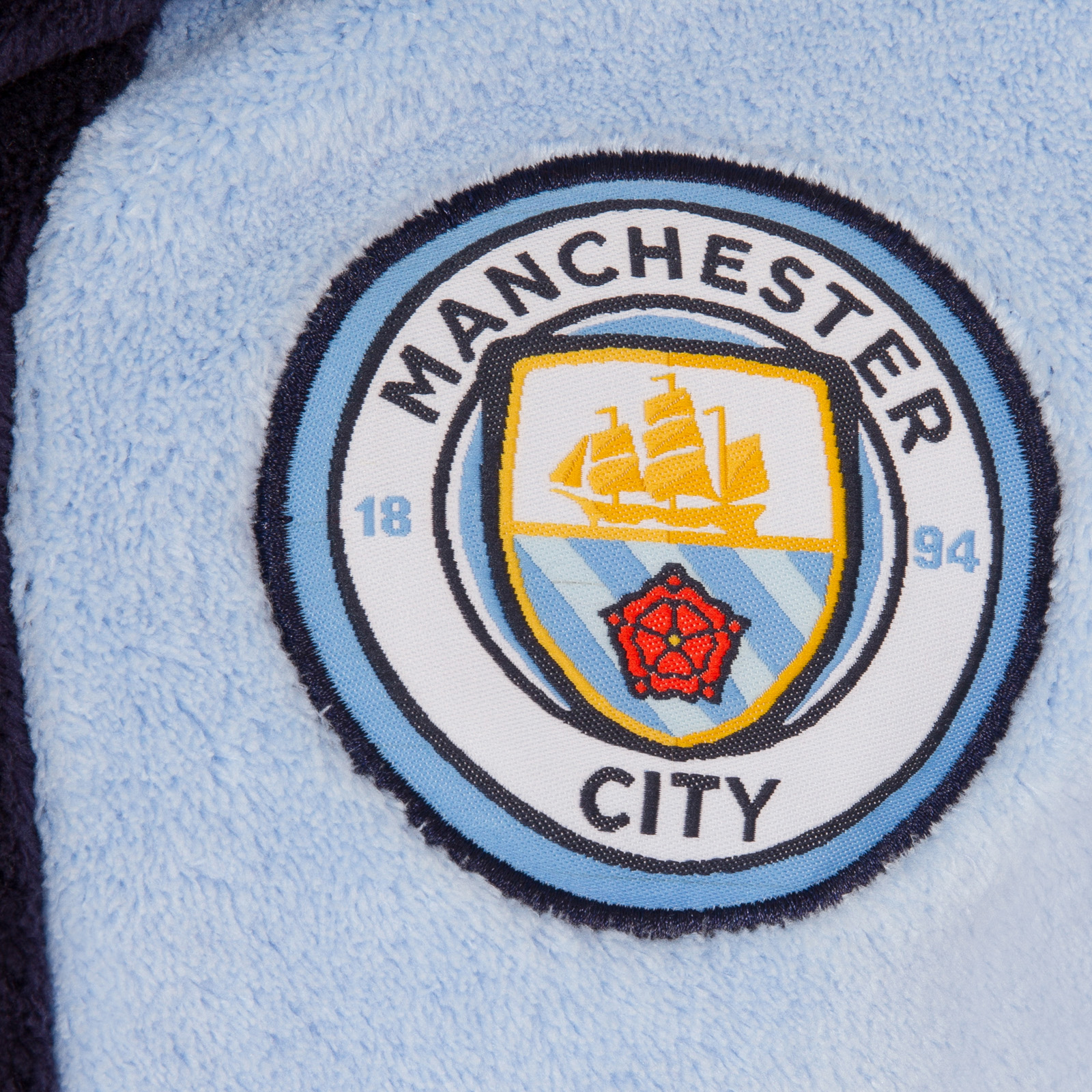 Manchester-City-FC-officiel-Robe-de-chambre-a-capuche-polaire-garcon