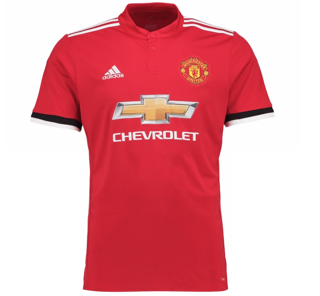 Manchester United FC Official Soccer Gift Mens Adidas 2017 ...