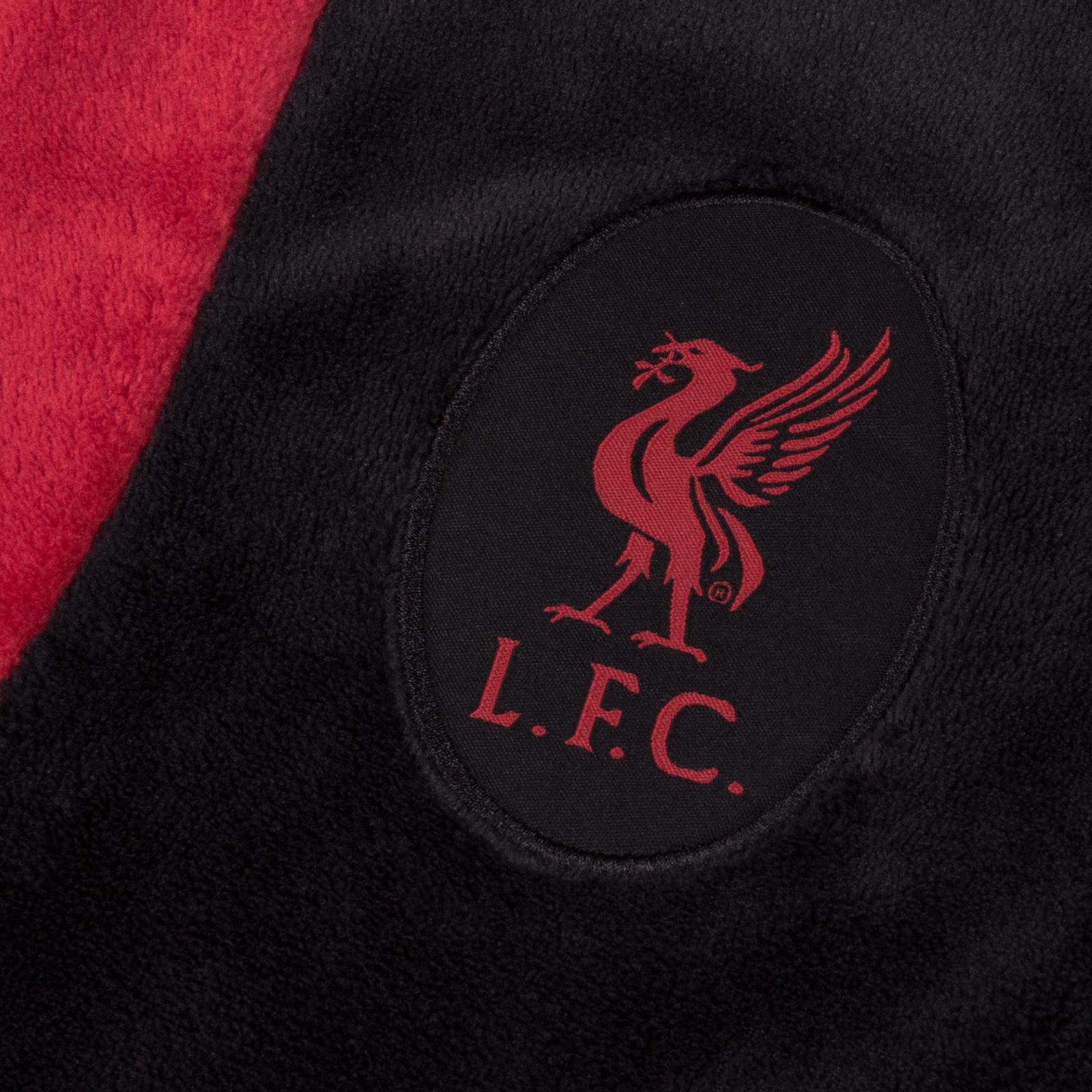 Ragazzi Ufficiale Liverpool Lfc Con Cappuccio All in One Pile Per Bambini Ragazzi 4 6 8 10 12