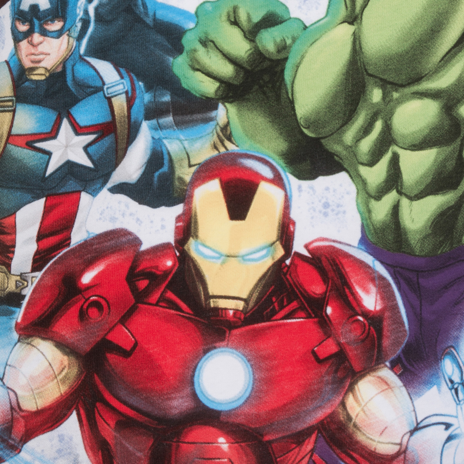 Détails sur Marvel officiel Pyjama court AvengersIron ManHulkCaptain America