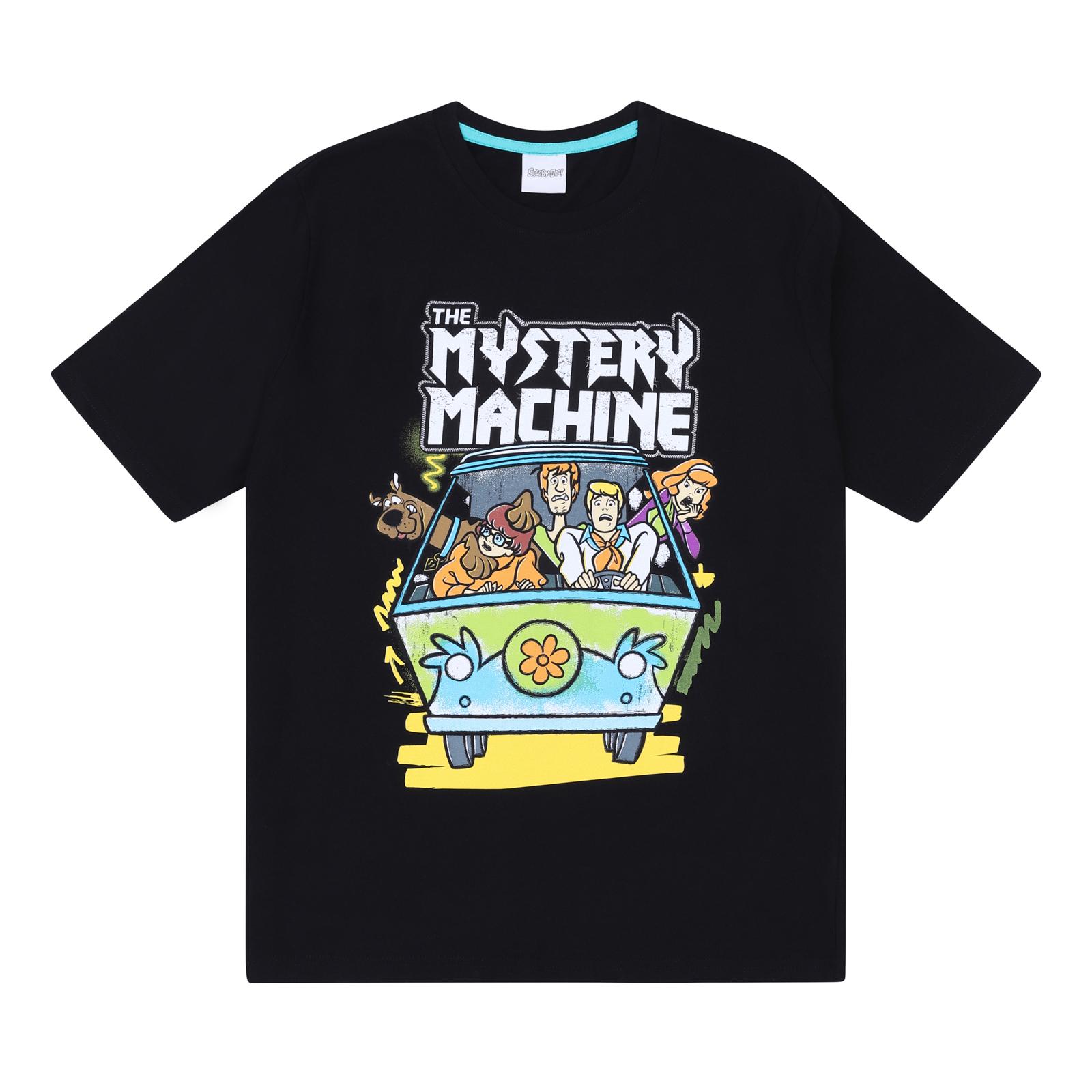 Scooby-Doo-Shaggy-Mystery-Machine-Official-Mens-Loungewear-Retro-Short-Pyjamas thumbnail 3