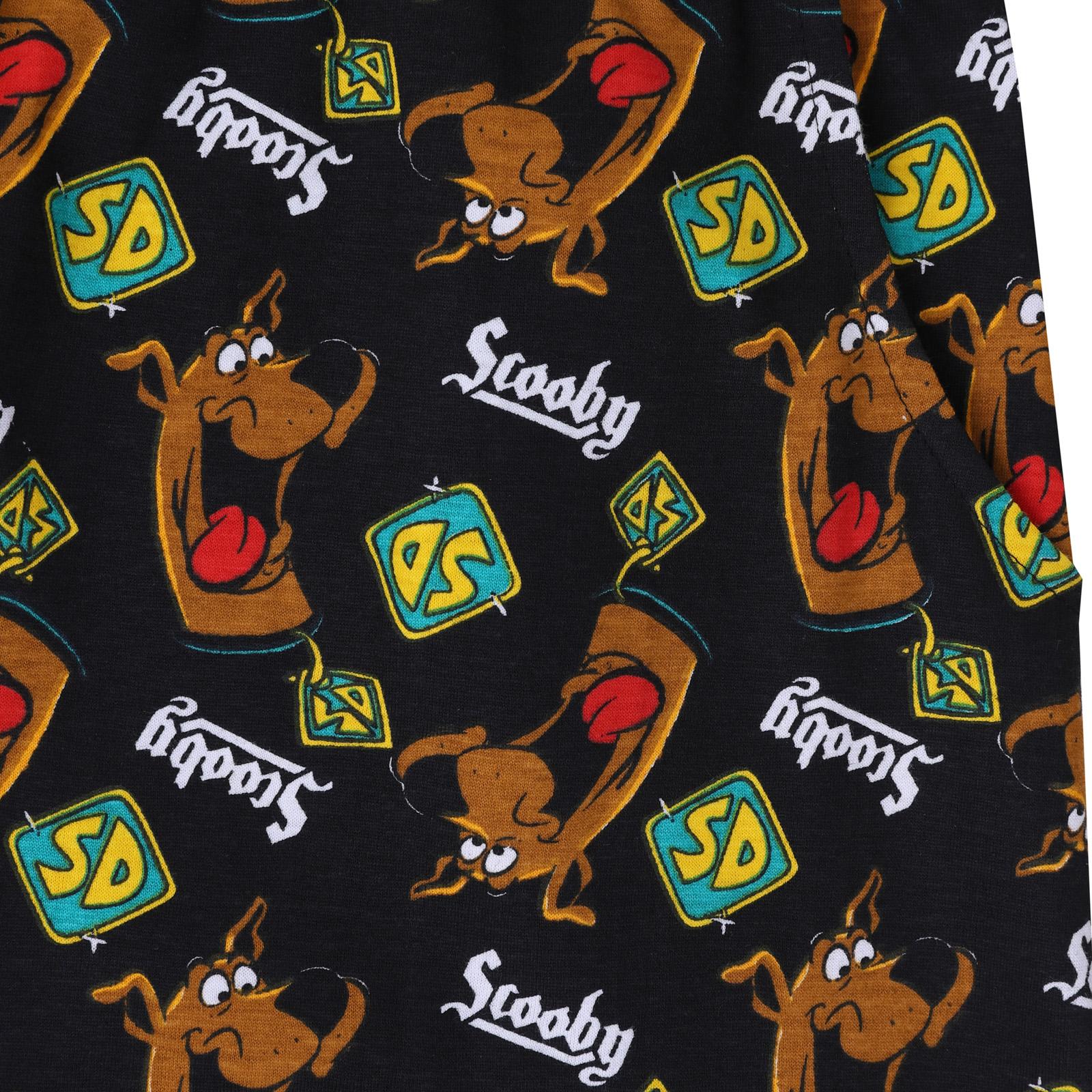 Scooby-Doo-Shaggy-Mystery-Machine-Official-Mens-Loungewear-Retro-Short-Pyjamas thumbnail 5