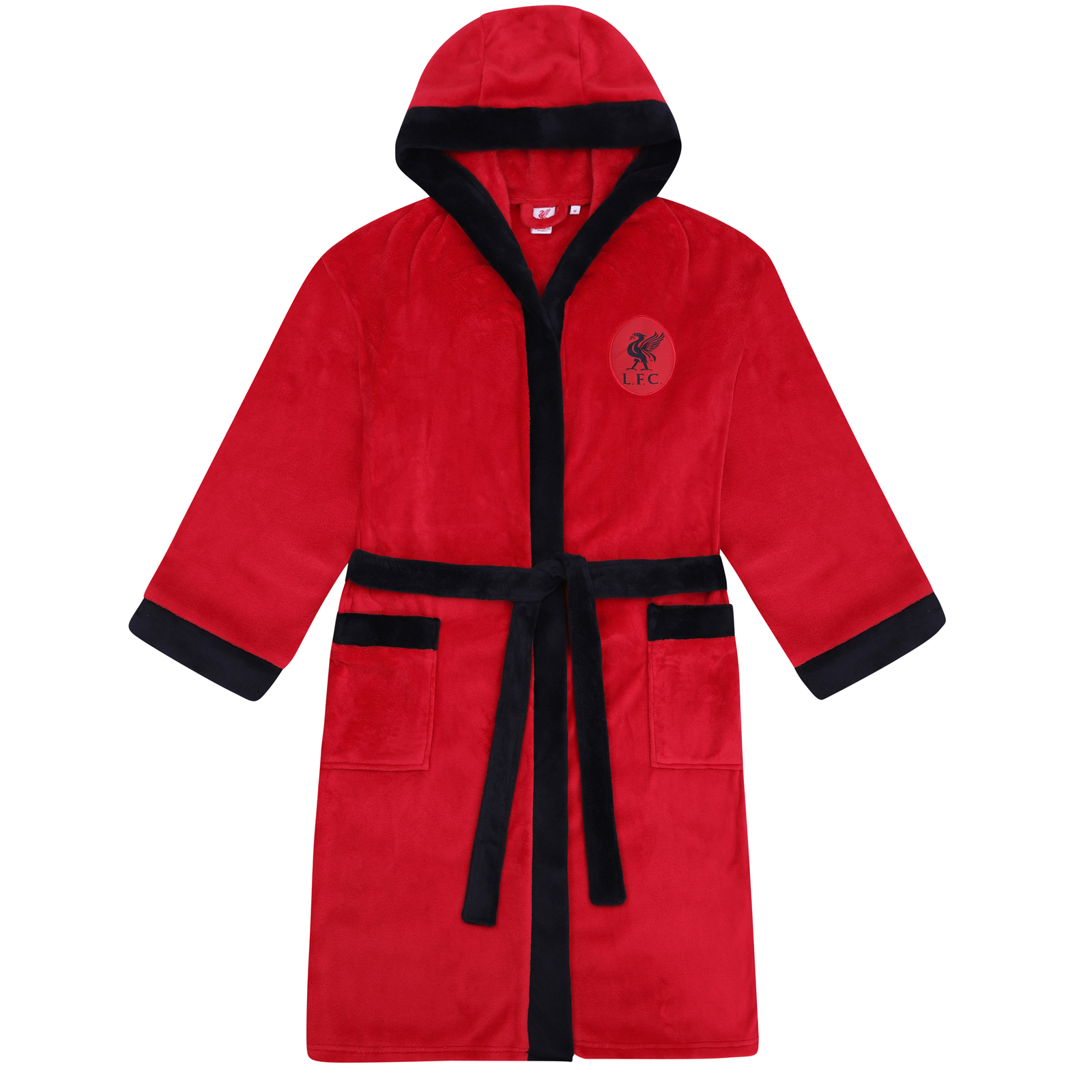 Chelsea FC Official Football Gift Boys Quilted Hooded Winter Jacket
