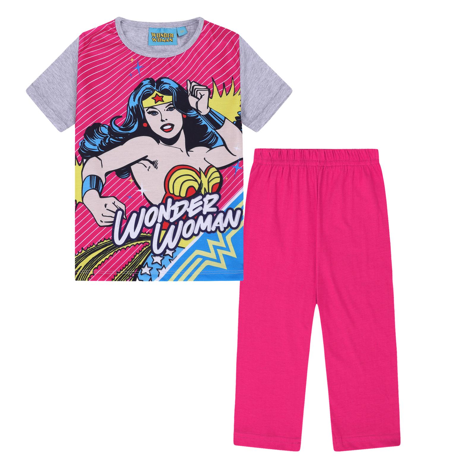 DC Comis Girls Wonder Woman Long Sleeved Top