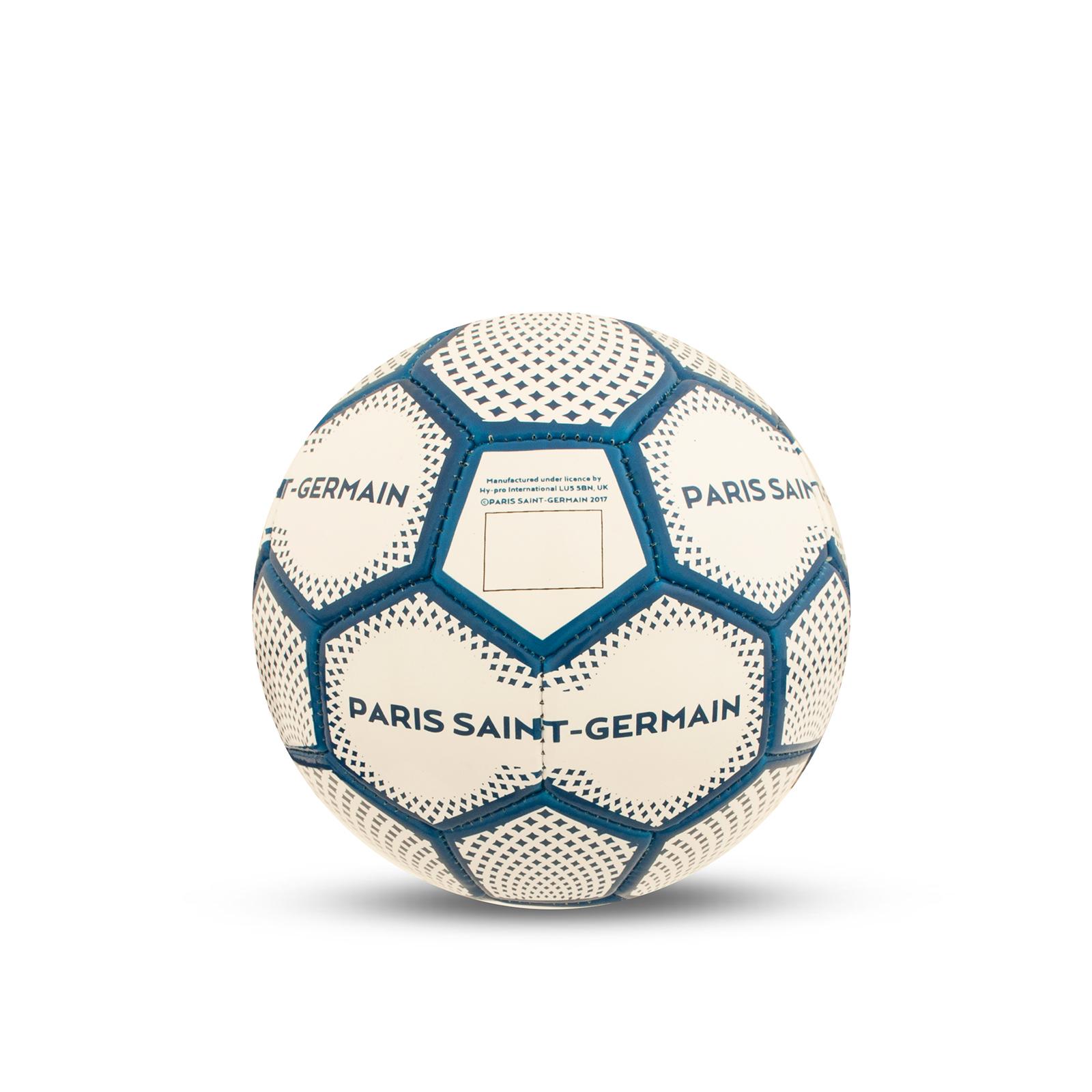 Ballon de Foot avec Blason et Signature Paris Saint Germain FC PSG Officiel Taille 1//3//5