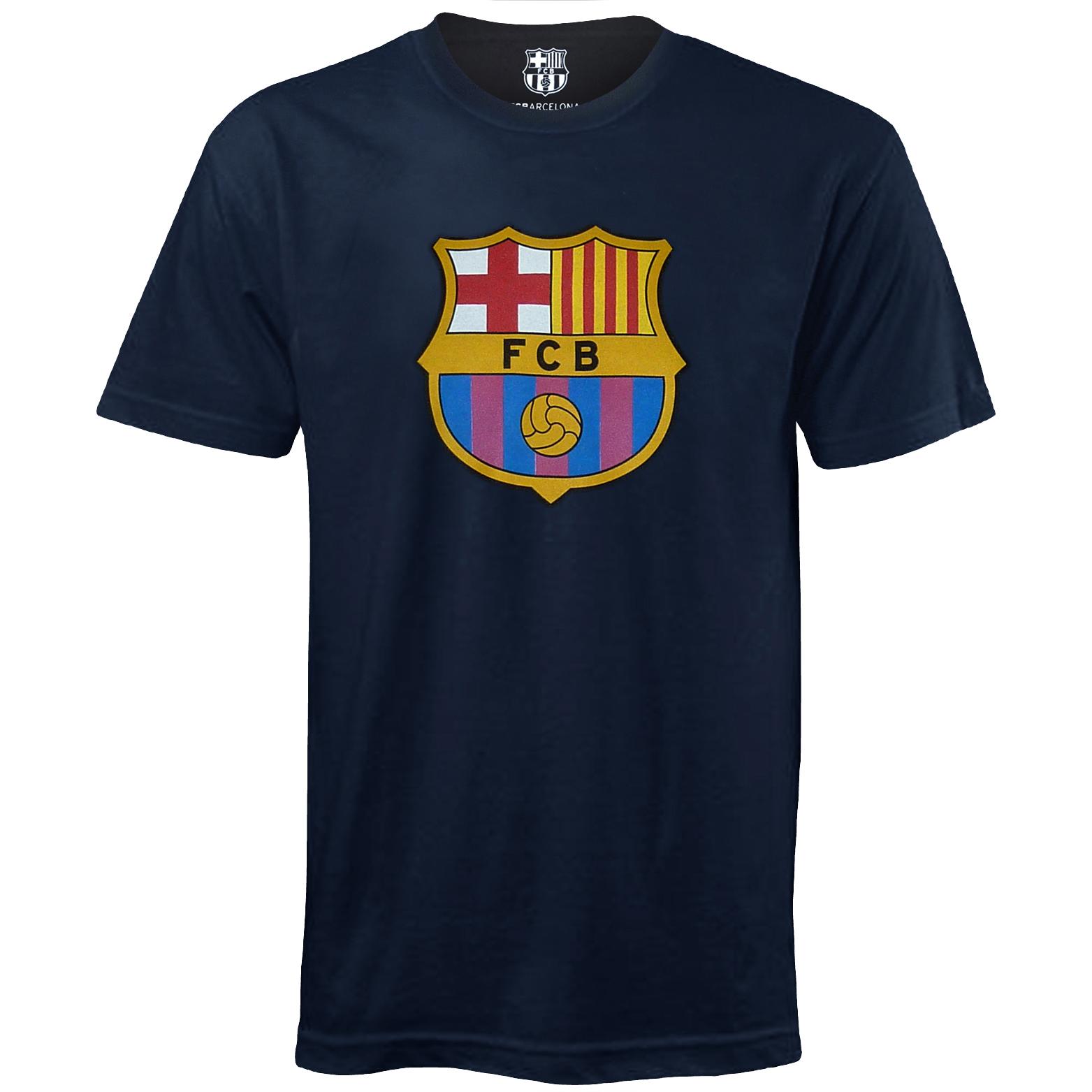 Fc Barcelone Officiel T Shirt De Football Pour Homme