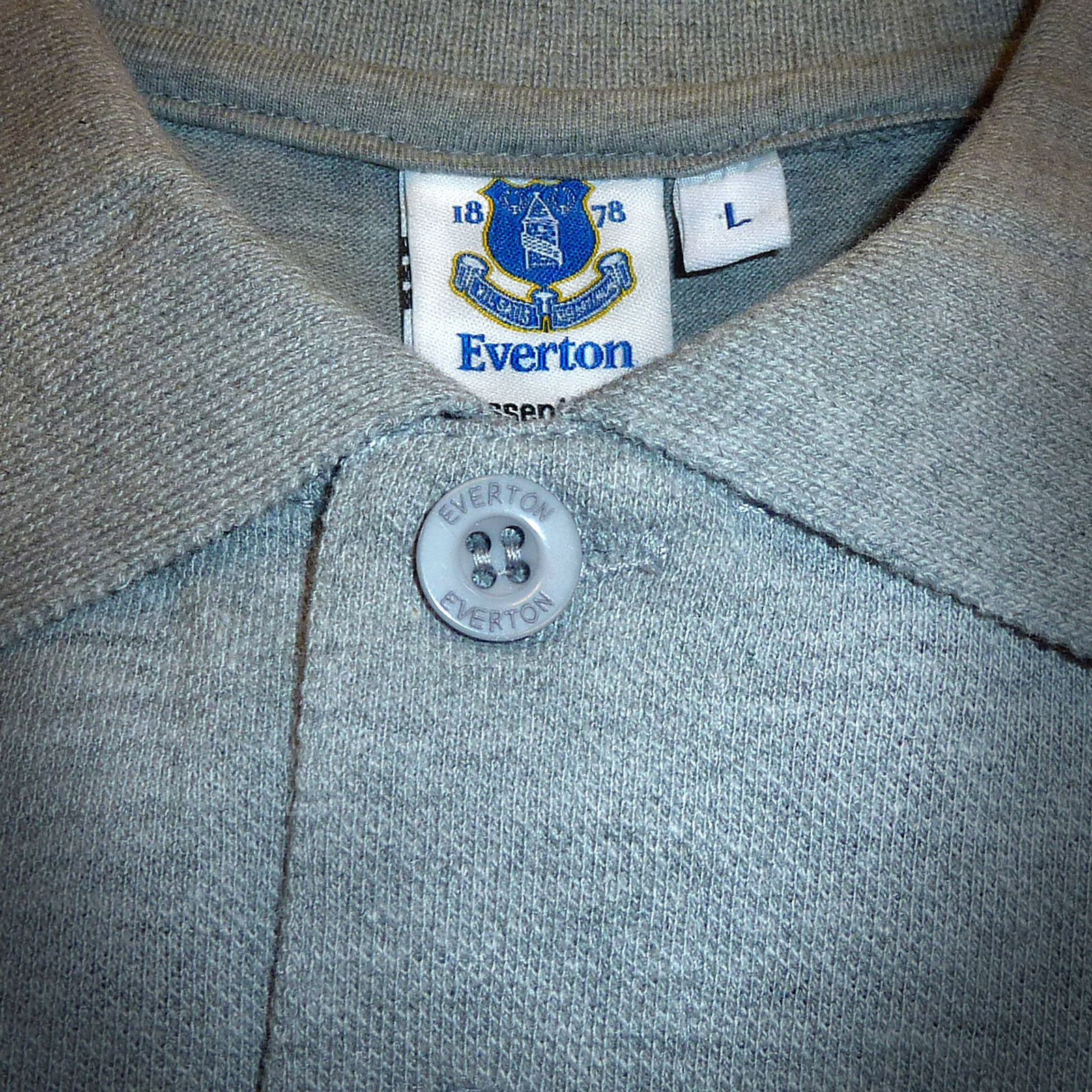 Everton-FC-Official-Football-Gift-Mens-Crest-Polo-Shirt thumbnail 9