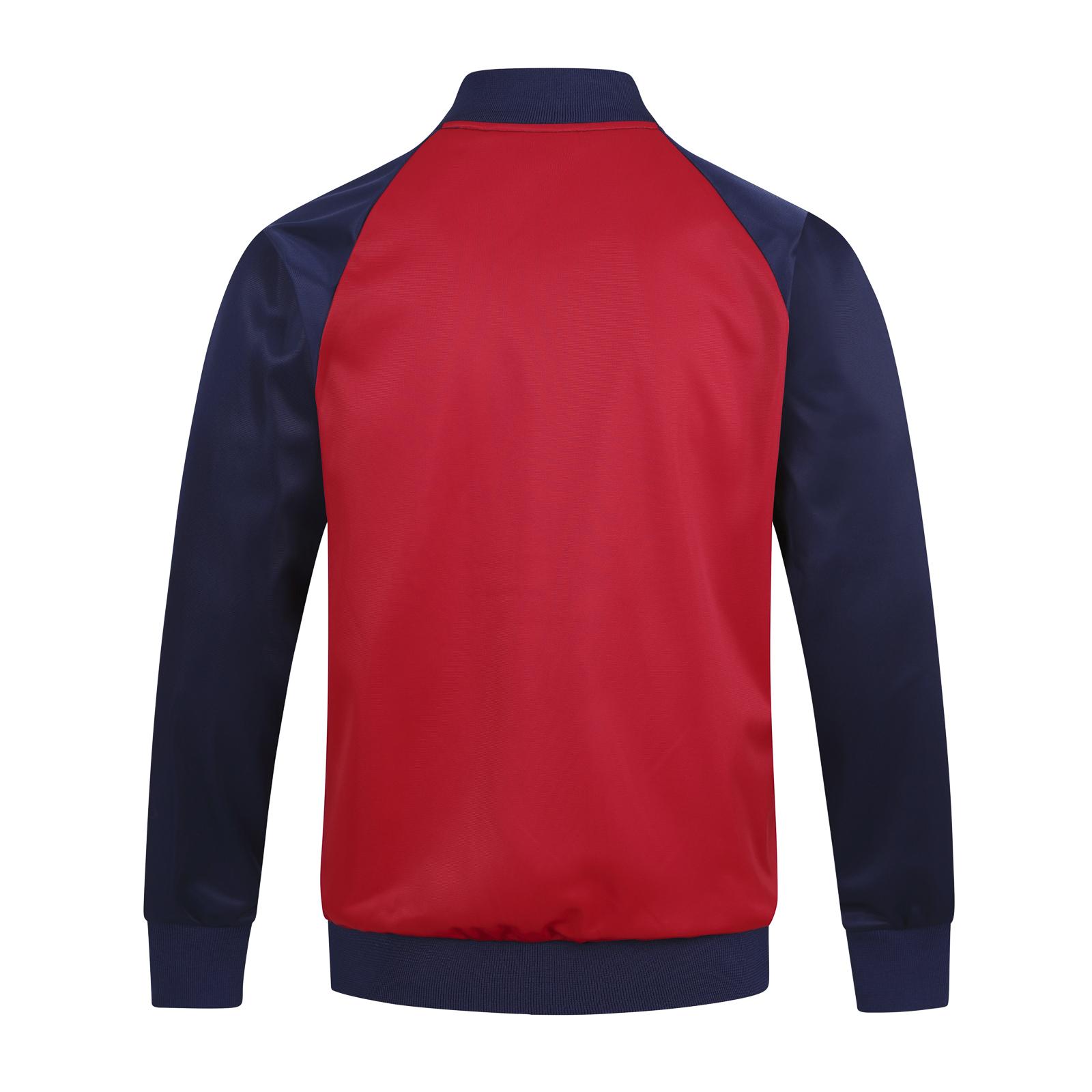 Arsenal-FC-Official-Football-Gift-Mens-Retro-Track-Top-Jacket 縮圖 10