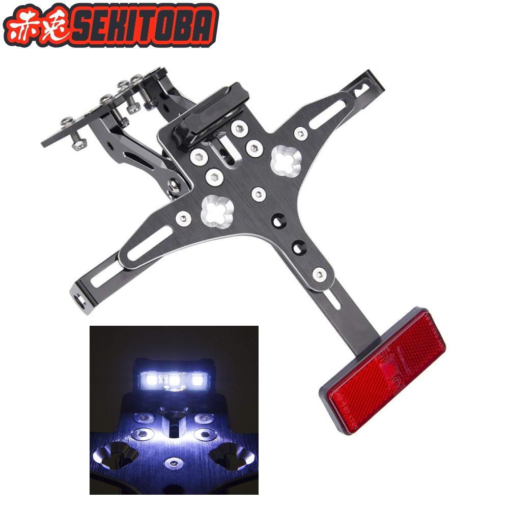 LED light License Plate Bracket Holder For Honda (CB900F Hornet)//CB919 CBR929RR