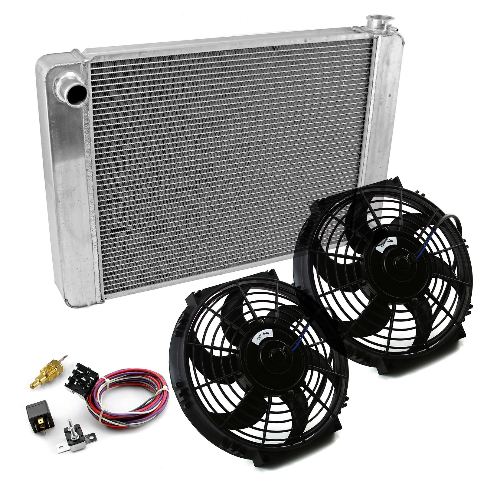 17 X 28 Core Crossflow Radiator Aluminum Radiators And