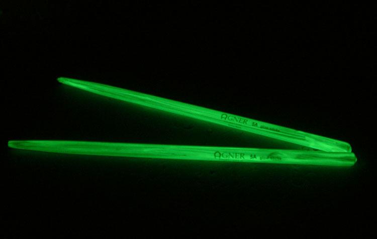 Drum Sticks 5a Agner Glow in the Dark Hictory DrumSticks ...