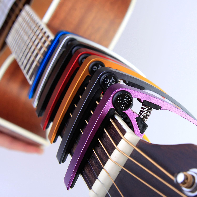 premium guitar capo quick change trigger clamp for acoustic electric 12 string ebay. Black Bedroom Furniture Sets. Home Design Ideas