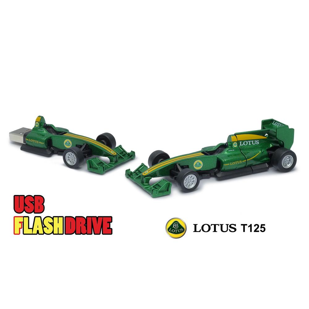 Green Official Lotus T125 F1 Racing Car USB Memory Stick 16Gb