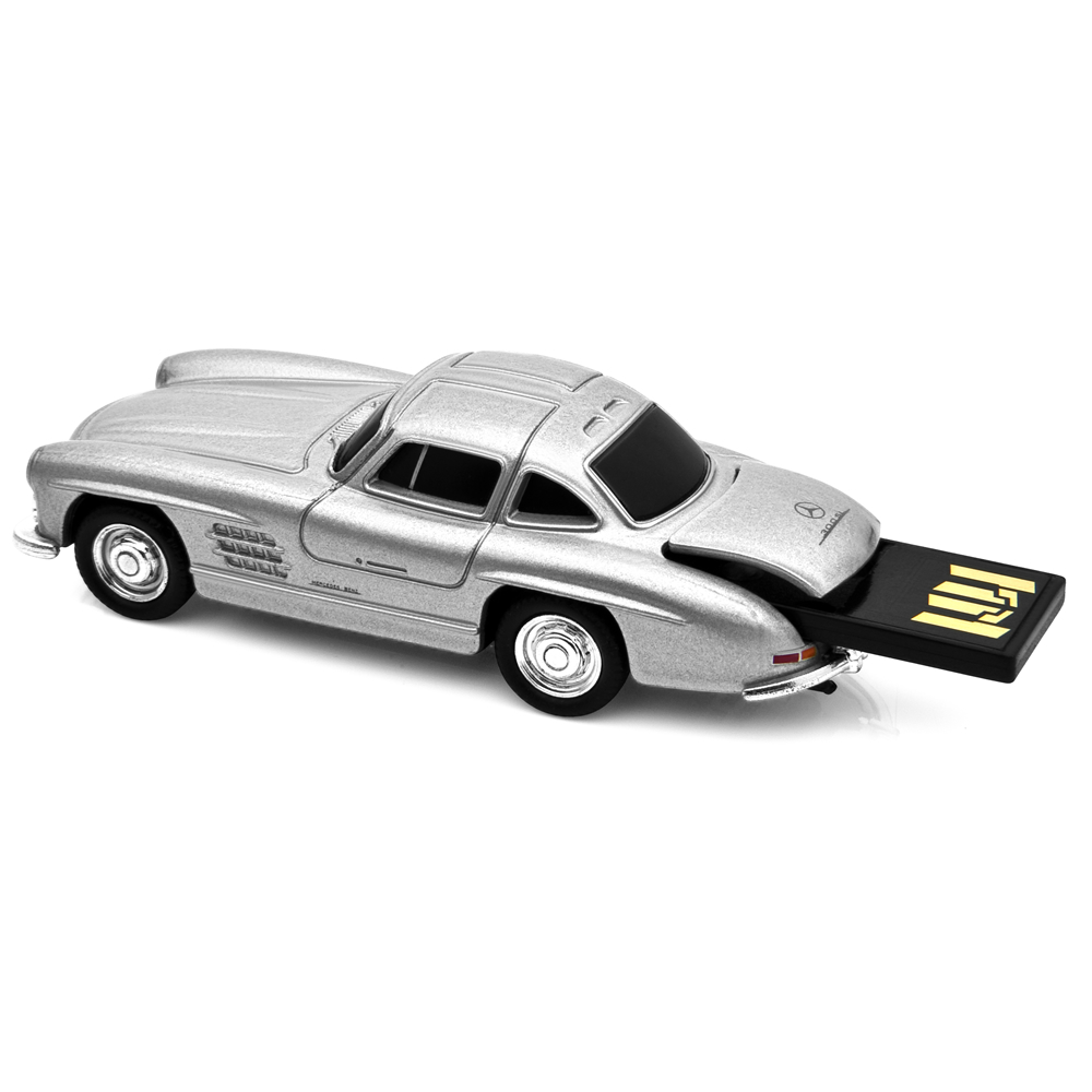 mercedes benz 300sl gullwing car usb memory stick 16gb. Black Bedroom Furniture Sets. Home Design Ideas