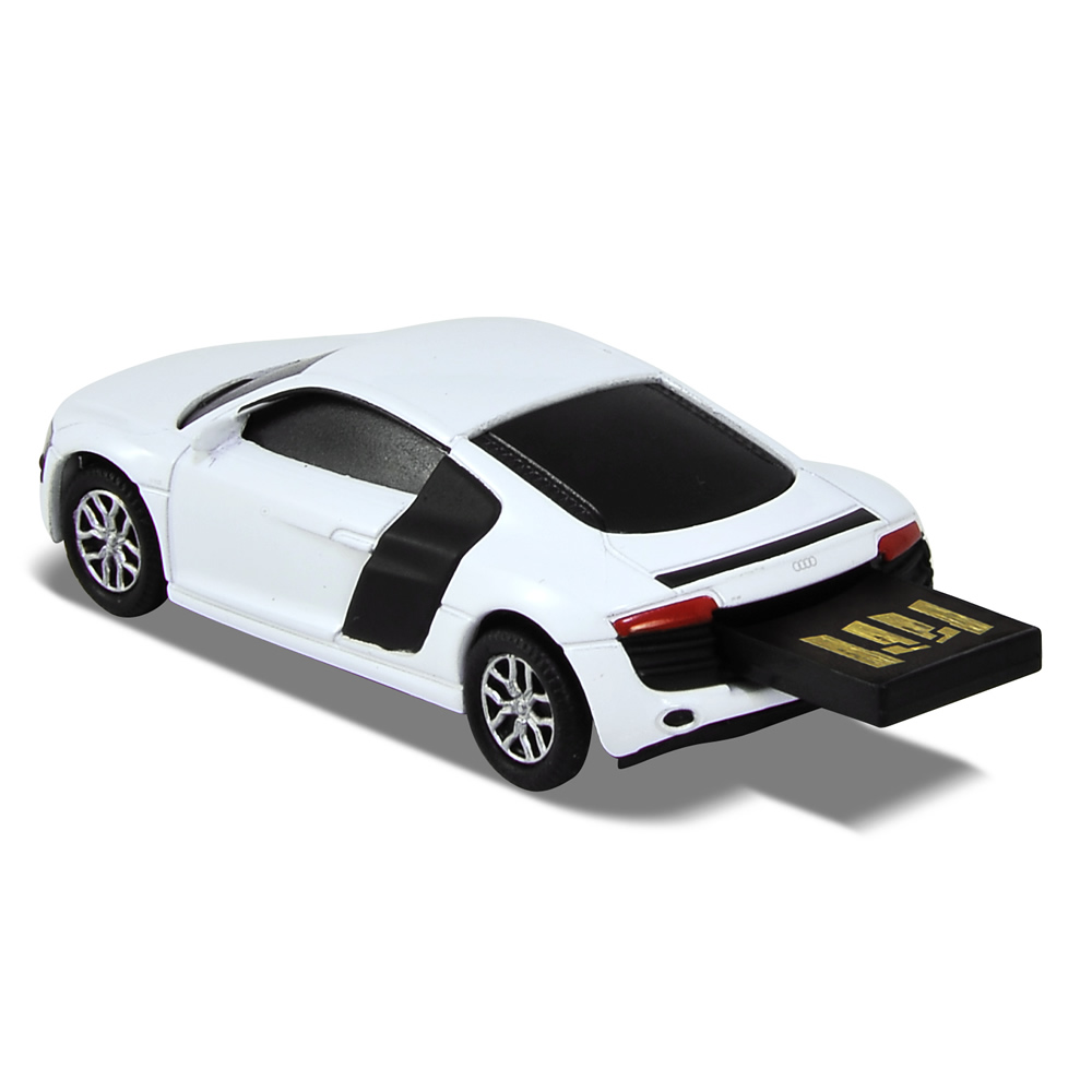 audi r8 v10 sports car usb memory stick flash drive 8gb. Black Bedroom Furniture Sets. Home Design Ideas