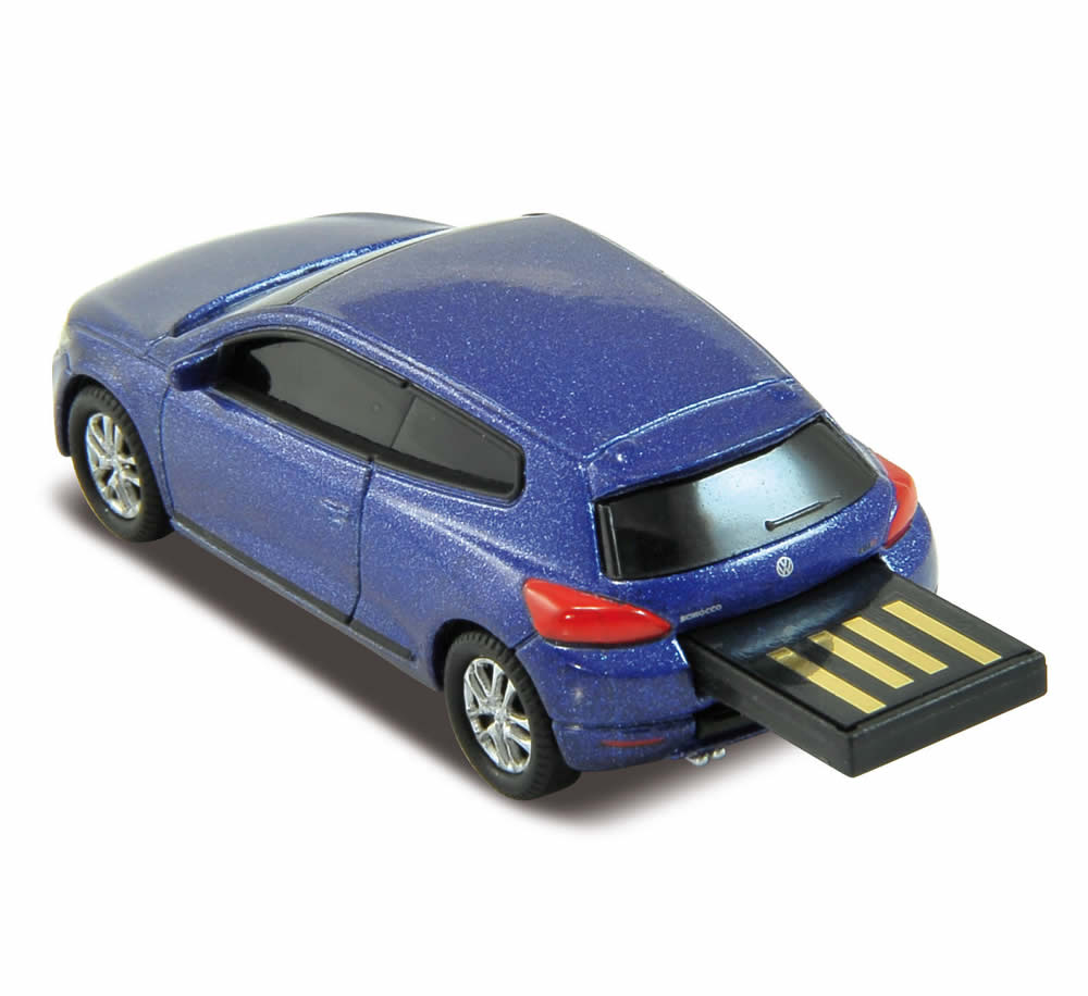 official vw scirocco car usb memory stick flash drive 4gb. Black Bedroom Furniture Sets. Home Design Ideas