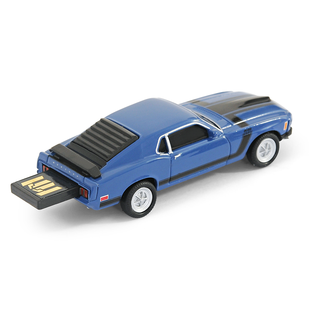 ford mustang boss 302 car usb memory stick flash pen drive. Black Bedroom Furniture Sets. Home Design Ideas