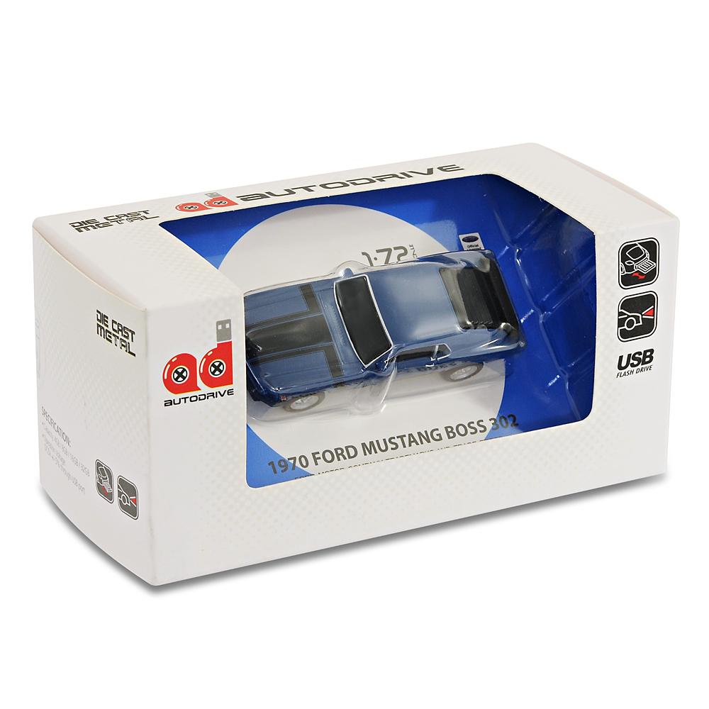 ford mustang boss 302 car usb memory stick flash pen drive. Black Bedroom Furniture Sets. Home Design Ideas