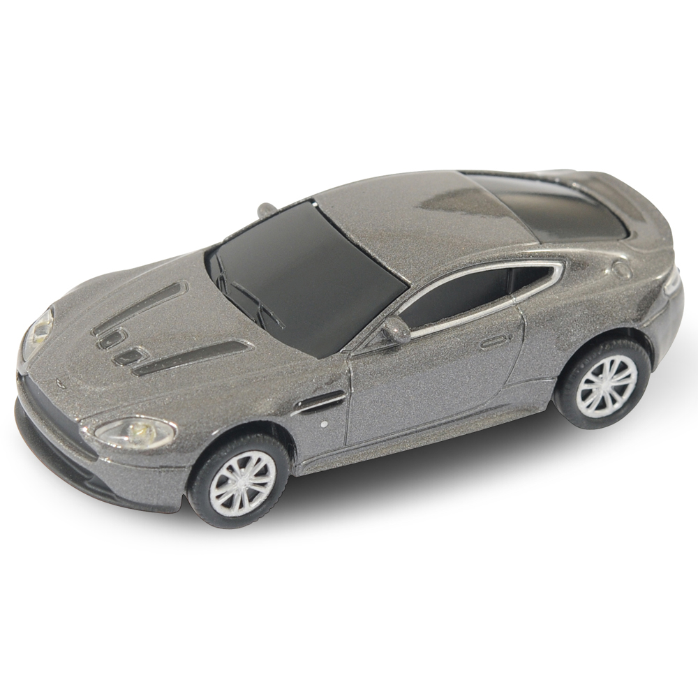 aston martin vantage car usb memory stick 4gb grey ebay. Black Bedroom Furniture Sets. Home Design Ideas