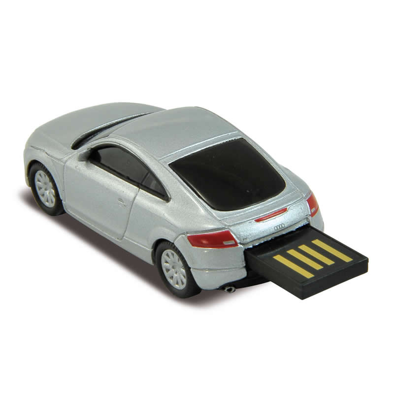 audi tt car usb memory stick flash drive 4gb silver ebay. Black Bedroom Furniture Sets. Home Design Ideas