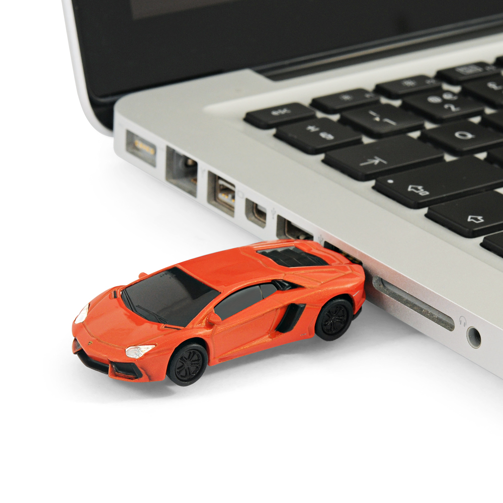 lamborghini aventador sports car usb memory stick flash. Black Bedroom Furniture Sets. Home Design Ideas