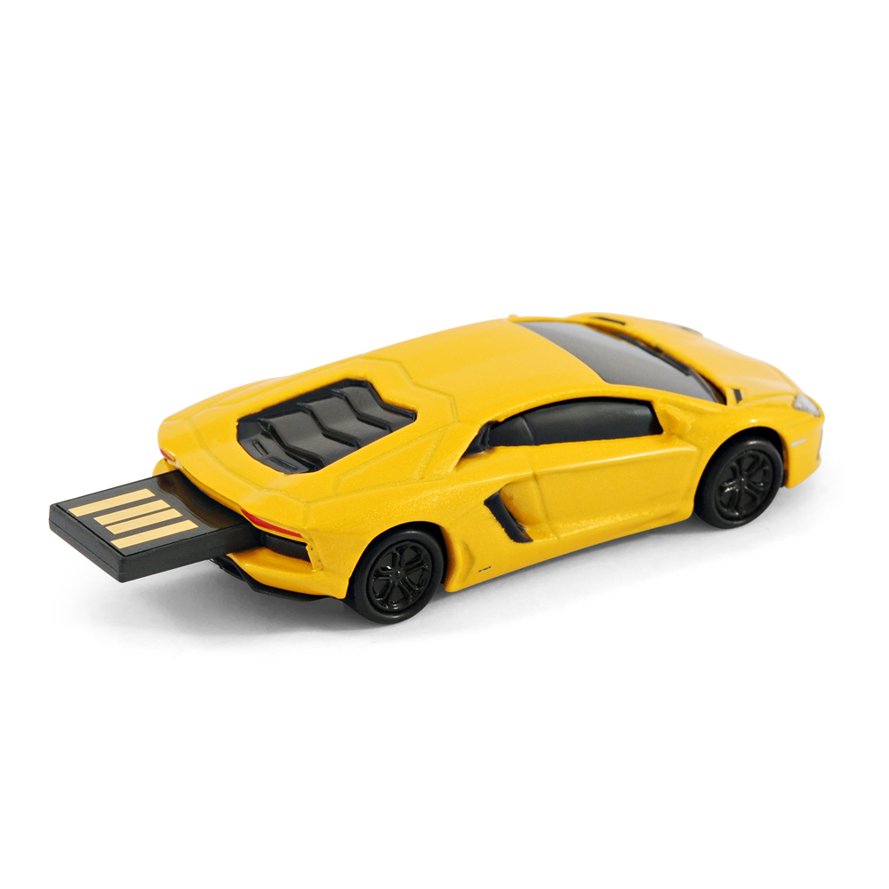 lamborghini aventador sports car usb memory stick flash