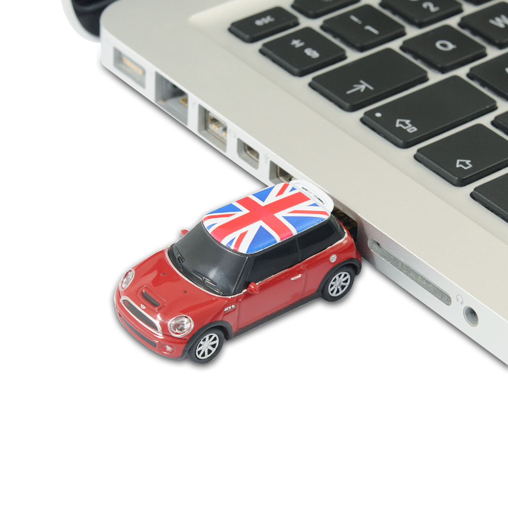 bmw mini cooper s car usb memory stick flash drive 8gb. Black Bedroom Furniture Sets. Home Design Ideas