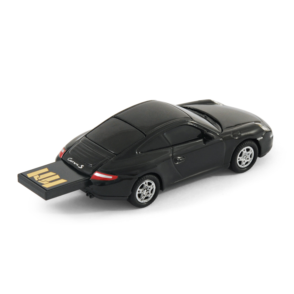 official porsche 911 car usb memory stick 8gb black ebay. Black Bedroom Furniture Sets. Home Design Ideas